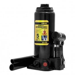 Домкрат гидравлический бутылочный Sigma 5т H 216-413мм (кейс) (6102051)