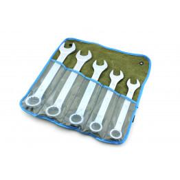 Наборы комбинированных ключей 5 едениц в сумке. Размеры ключей:                              22, 24, 27, 30, 32.