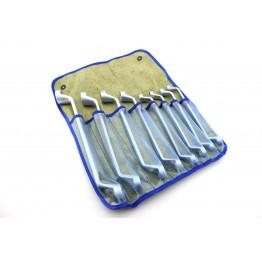 Наборы накидых ключей                                         8 едениц в сумке. Размеры ключей:   8×10, 10×12, 12×13, 13×14, 14×17, 17×19, 19×22, 22×24.