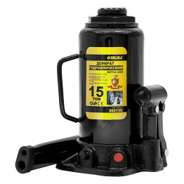 Домкрат гидравлический бутылочный Sigma 15т H 230-460мм (6101151)