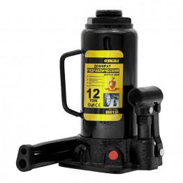 Домкрат гидравлический бутылочный Sigma 12т H 230-465мм (6101121)