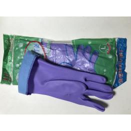 Перчатка хозяйственная с латексной подкладкой