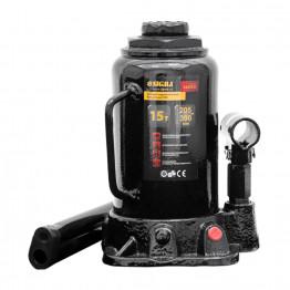 Домкрат гидравлический бутылочный Sigma mid 15т H 205-390мм (6105151)