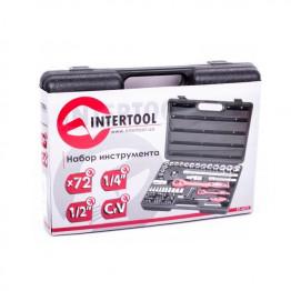 Набор инструмента 72 ед. INTERTOOL ET-6072